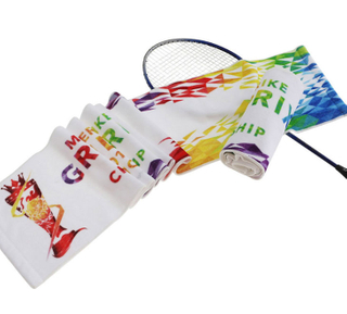 Customized Multipurpose Use 100% Cotton Logo Printed Color Promotion Hand Rally Towels for Sport