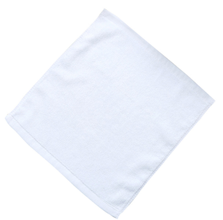 Customized Small White 30x30CM Square Cotton Face Towels