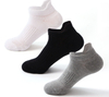 Custom Thick Cotton Terry Men Ankle Sport Running Socks