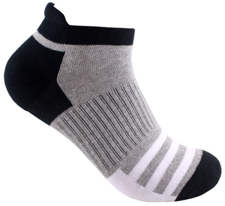 Customized Arch Support Terry Sole Cotton Men Ankle Sport Socks