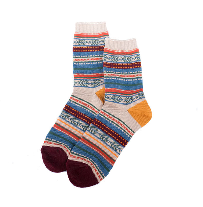 Custom Cable Knit Women Cotton Ankle Socks