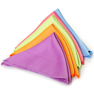 Microfiber Glass Window Cleaning Wash Cloth