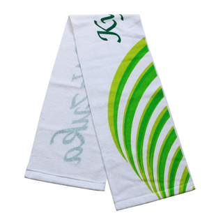 Custom Made Printed Cotton Rally Promotion Hand Sport Towel