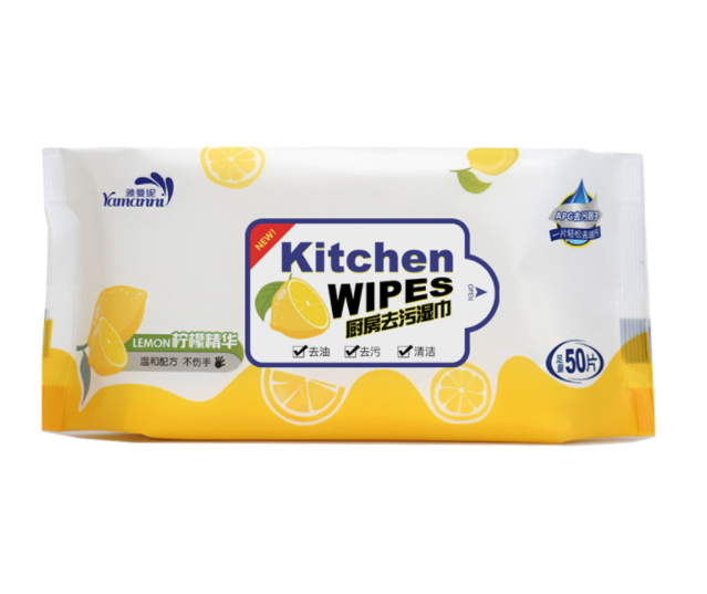 Custom Nonwoven Kitchen Cleaning Wipes