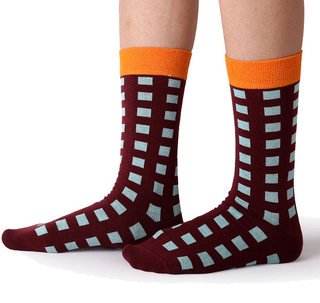 Customized Fashion Novelty Designer Cotton Crew Men Socks