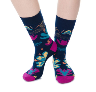 Custom Fashion Cotton Women Dress Socks
