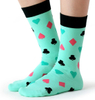 Customized Cotton Mens Fashion Fun Crew Happy Socks